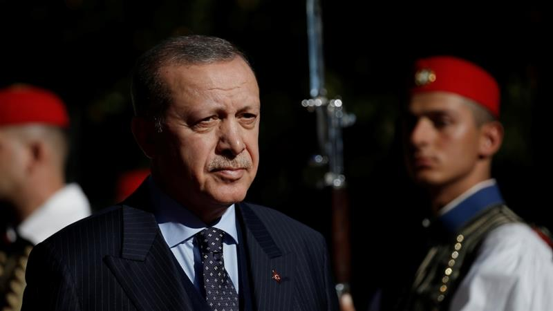 Turkey's Erdogan arrives in Greece for two-day visit