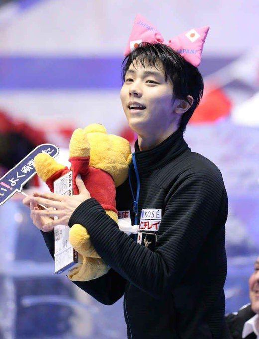 HAPPY BIRTHDAY TO MY BOY YUZURU HANYU GET WELL SOON!!!! ILYSM!!