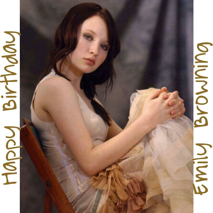 Happy Birthday Emily Browning   Much Peace, Health And Happiness