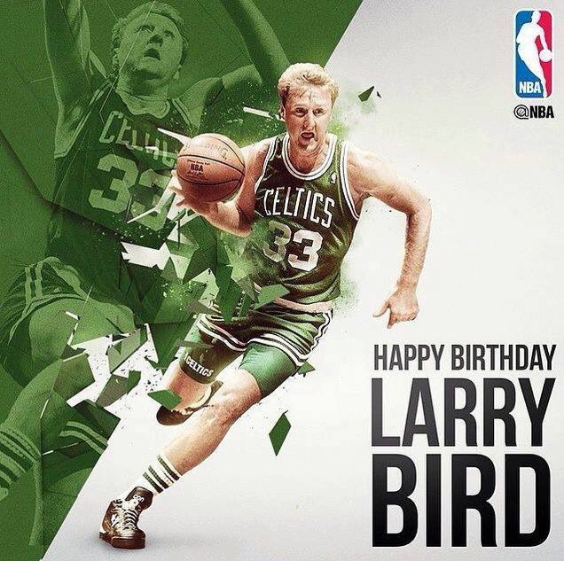 Happy - Larry Bird today is 61st Birthday!