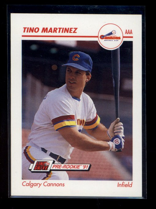Happy 50th Birthday to former Calgary Cannons slugger Tino Martinez!