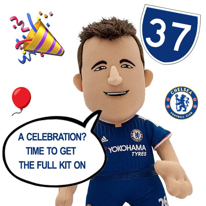 Happy Birthday John Terry! 37 years young today!