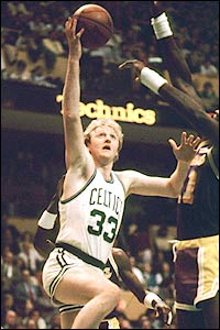 This Day In History: Happy 61st Birthday to Bro-ston Celtic legend Larry Bird!