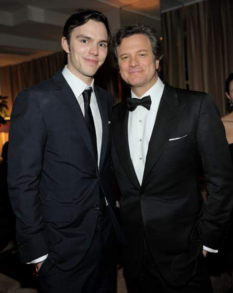 "COLIN FIRTH ADDICTED HAPPY BIRTHDAY ""NICHOLAS HOULT\"" ^^"