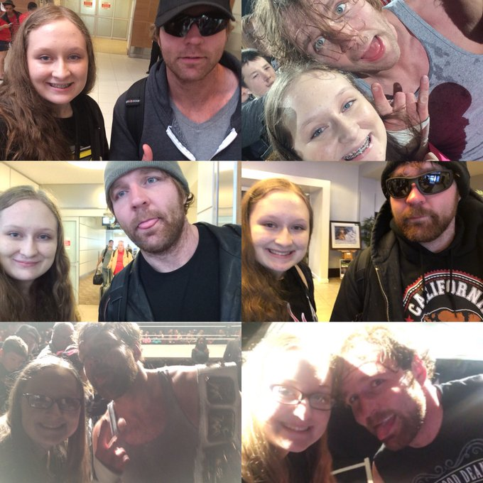 Huge Happy Birthday to one of my most favourite WWE Superstars Dean Ambrose!!