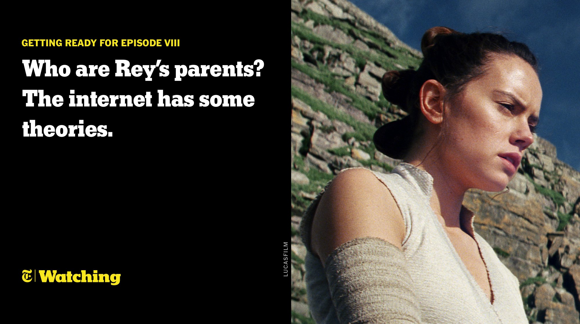 'The Last Jedi:' Who are Rey's parents? The internet has many theories. https://t.co/5q4GNoNOs0 https://t.co/bwPfeDqAvT