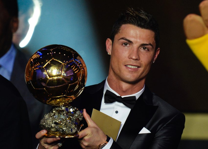 Cristiano Ronaldo gewinnt zum fünften Mal den Ballon D'Or
