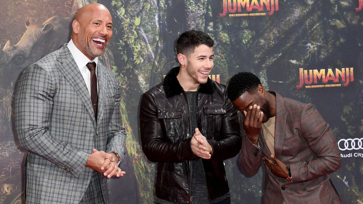 The Rock Wants You To Know That Nick Jonas Loves Tequila And Bad Words