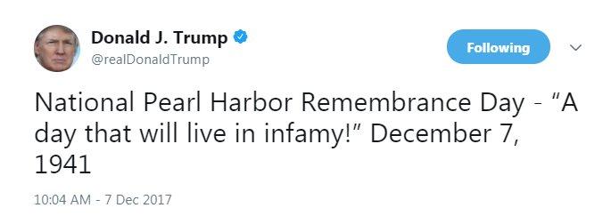 National Pearl Harbor Remembra pearl harbor day