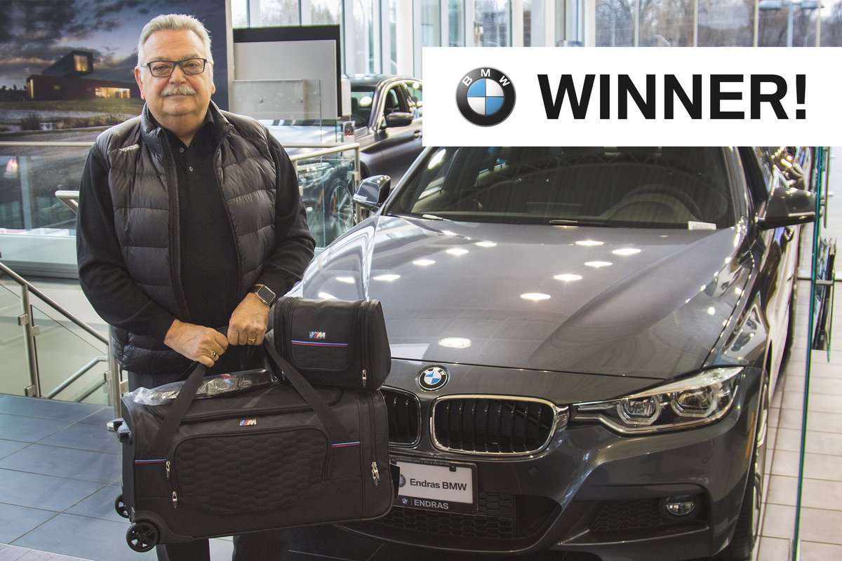 test Twitter Media - During our X3 Launch at #EndrasBMW, we offered our guests ballots to win a BMW M Luggage Set in exchange for donations to a local shelter called Cornerstone. Congratulations to Fred L of Toronto for winning the set, and thank you to everyone who donated! https://t.co/9cEfpnRpU7