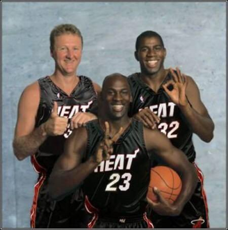 Happy 61st birthday Larry Bird. And shoutout to the greatest team that never existed.