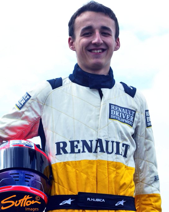 Happy Birthday to Formula One race winner Robert Kubica, born on this day in 1984