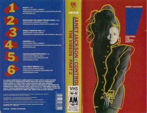 """Today in '87. """"Control - The Videos"""" went Platinum. #VHSRealness #JJTimeline https://t.co/LCaYvuMssR"""
