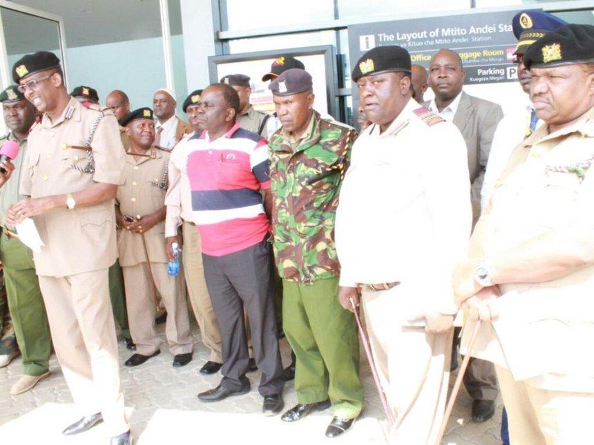 SGR vandals will face 'maximum force', Maalim warns