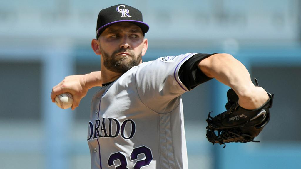 Iannetta  the  Rockies' fourth tyler chatwood