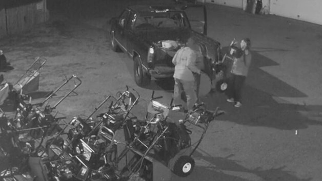 Weymouth Snow Blower Thieves Caught OnCamera