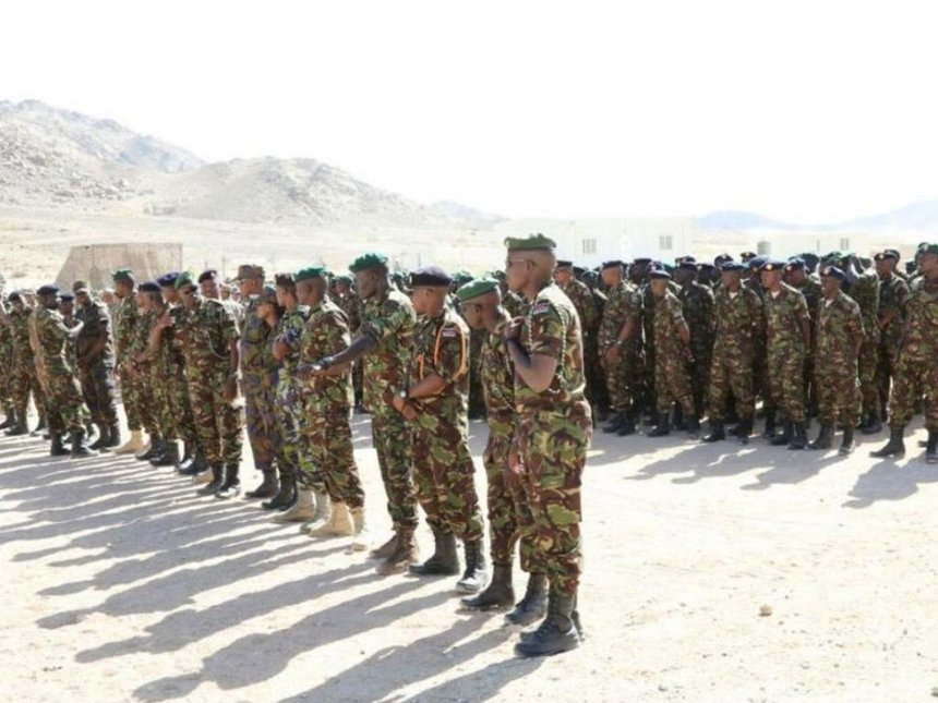 KDF, police and prisons officers in Tanzania for counter-terrorism training