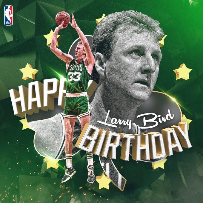 Happy Birthday to Larry Bird!