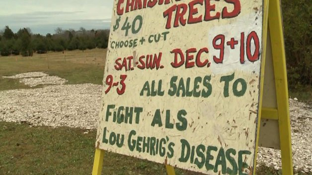 Family Sells Christmas Trees To Fight ALS
