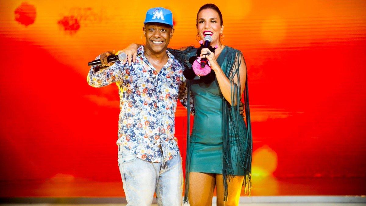Musica. Foto do site da BN Holofote que mostra Ivete lançará música com Márcio Victor canção poderá ser aposta para o Carnaval