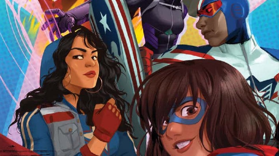 .@Marvel launches MarvelRising animation franchise