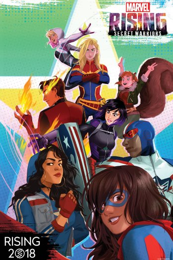 Marvel is launching animated property 'Marvel Rising' in 2018
