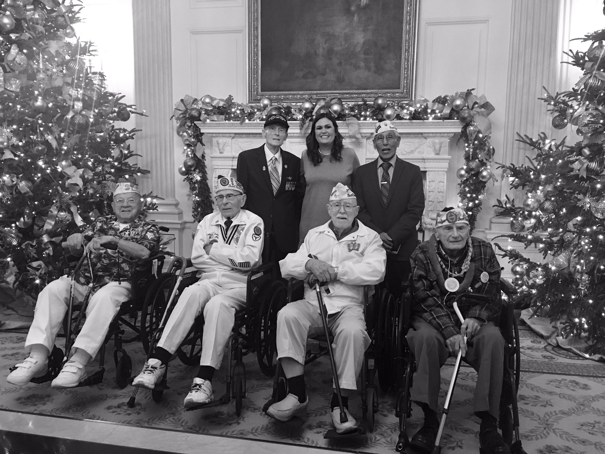 Such an honor to meet these American Heros @WhiteHouse today. #PearlHarborRememberanceDay https://t.co/IvC9JGs9lQ