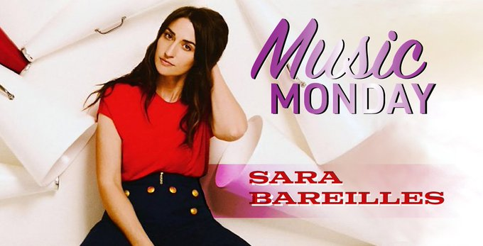 New Blog Post:  Music Monday: Happy Birthday, Sara Bareilles!