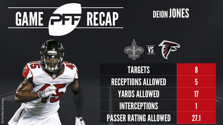 PFF deion jones
