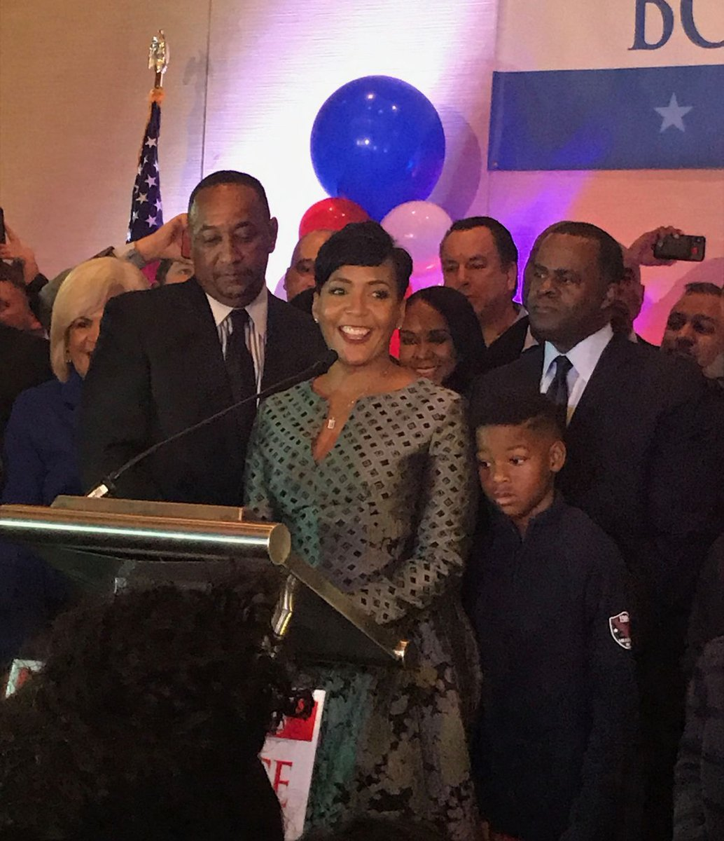 Atlanta just elected its secon keisha lance bottoms