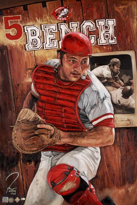 Happy 70th Birthday to Johnny Bench!