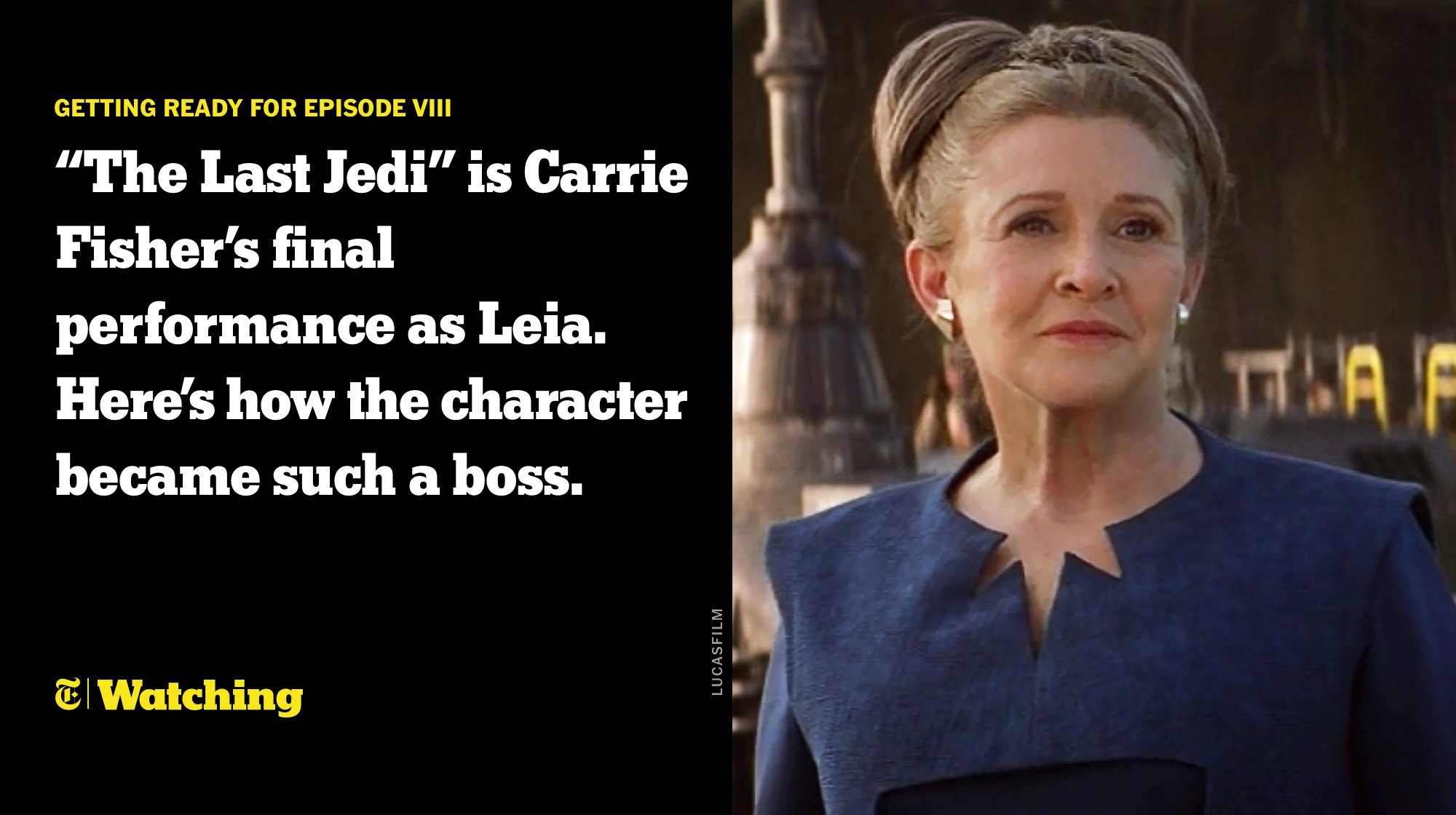 How Princess Leia went from secret baby to General Organa https://t.co/gF5yeeUJgT https://t.co/wxU2OBK0GB