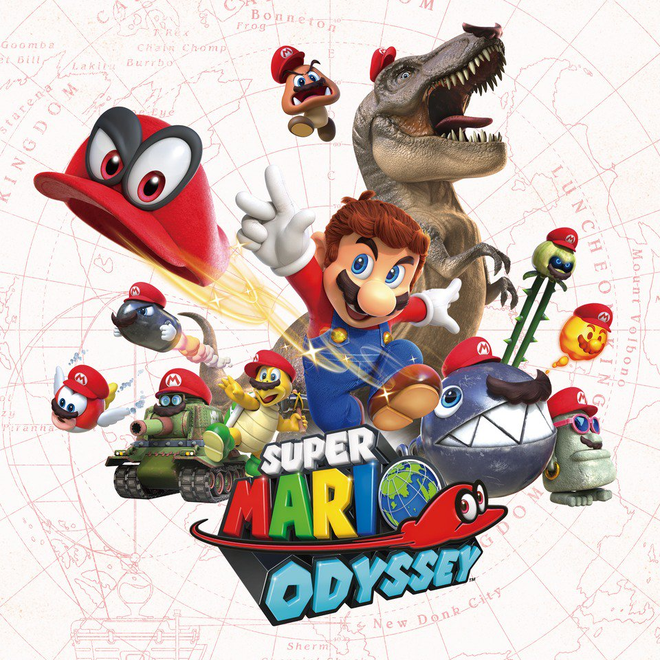 Hats-off to #TheGameAwards for choosing #SuperMarioOdyssey as the Best Family Game of 2017! https://t.co/fvcnb115Y6