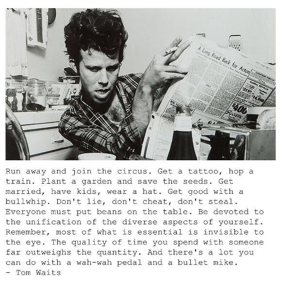 Happy Birthday Tom Waits.