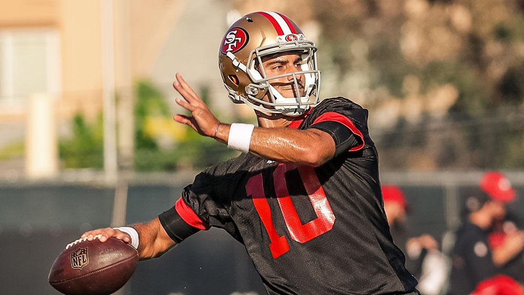 �� @JimmyG_10 readies for his 2nd #49ers start as #SFvsHOU prep continues: https://t.co/PQkIOV21pC https://t.co/YFybaLSfXm