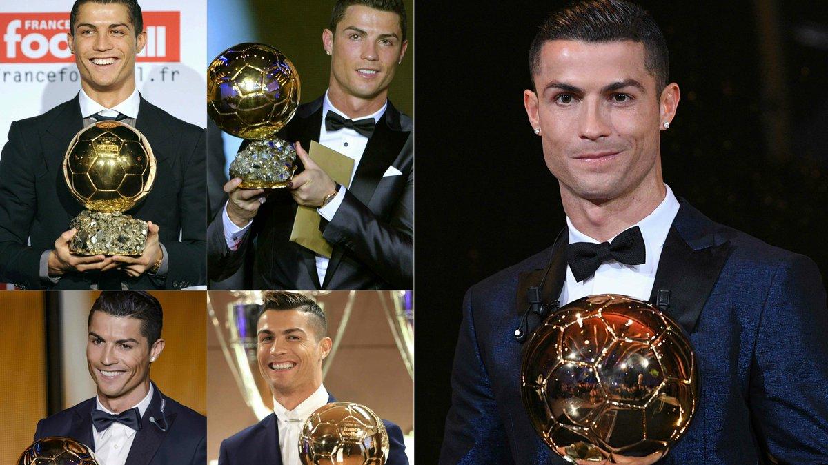 'Fantastic moment in my career': Cristiano Ronaldo ecstatic after record Ballon d'Or triumph