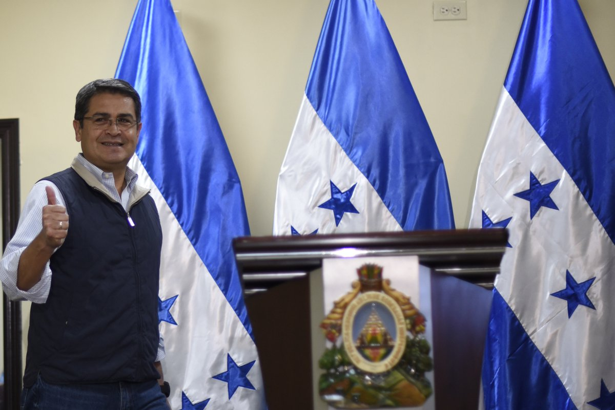 Is Trump backing an illegal election in Honduras?