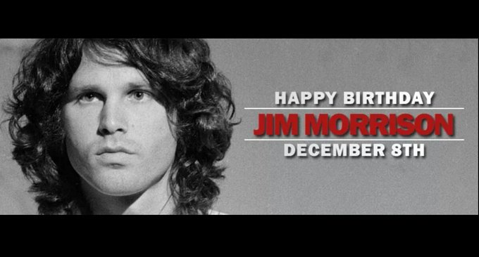 Happy Birthday to the infinite legend, Jim Morrison.