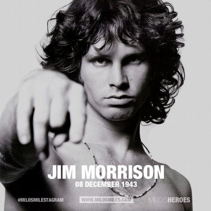 Happy Birthday Jim Morrison - The Doors (08.12.43)