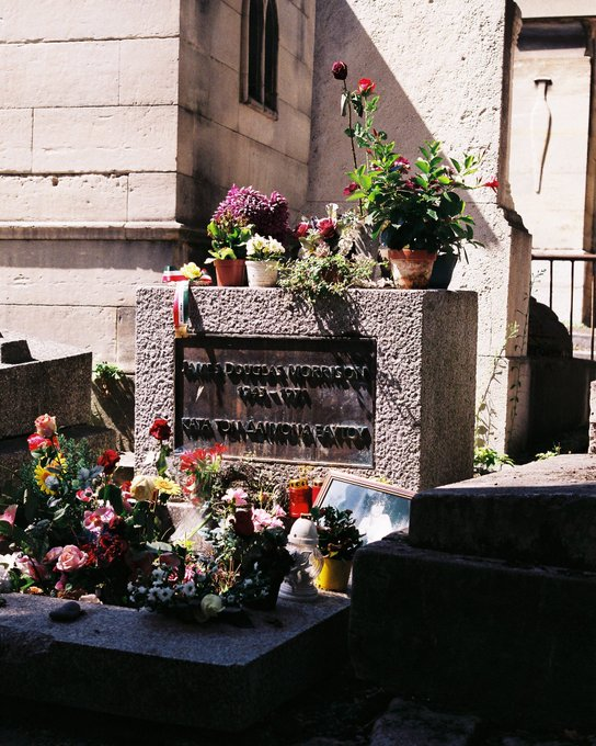Happy birthday to Jim morrison. Glad I had the chance to visit your tomb. Rest easy lizard king.