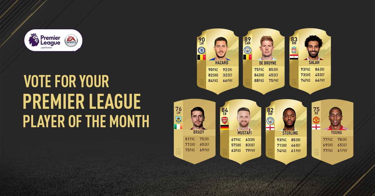 Vote for your #PL POTM and you'll have the chance to get the winner in your #FUT squad! https://t.co/Vuqc4nkER3 https://t.co/IahtUvr4Hw