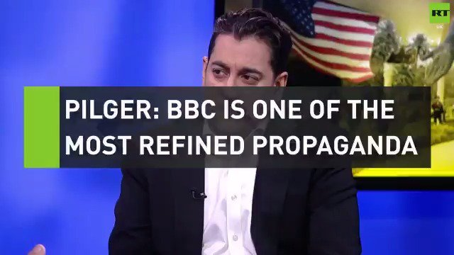 """John Pilger doesn't hold back: """"The BBC is and has long been the most refined propaganda service in the world."""" https://t.co/6mViFKnG4Z"""