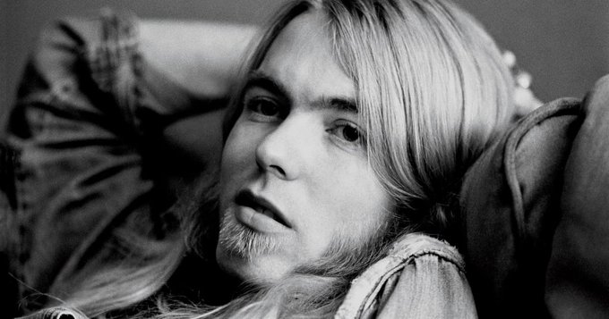 "Happy Birthday to Gregg Allman, born Dec 8! ""Midnight Rider\"""