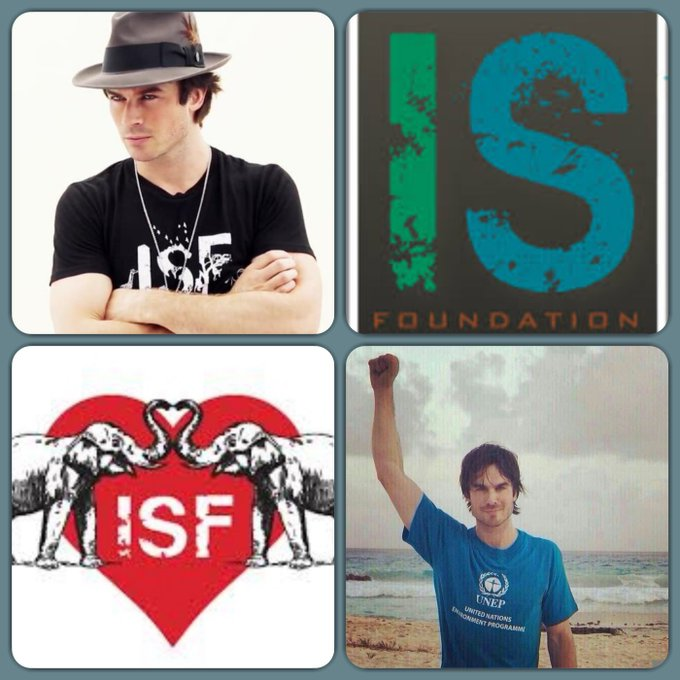 Happy Birthday Ian Somerhalder & Congratulation on the 7th Anniversary to