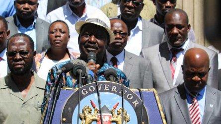 NASA planning to swear-in Raila Odinga at Moi Stadium Kisumu, says Moses Kuria