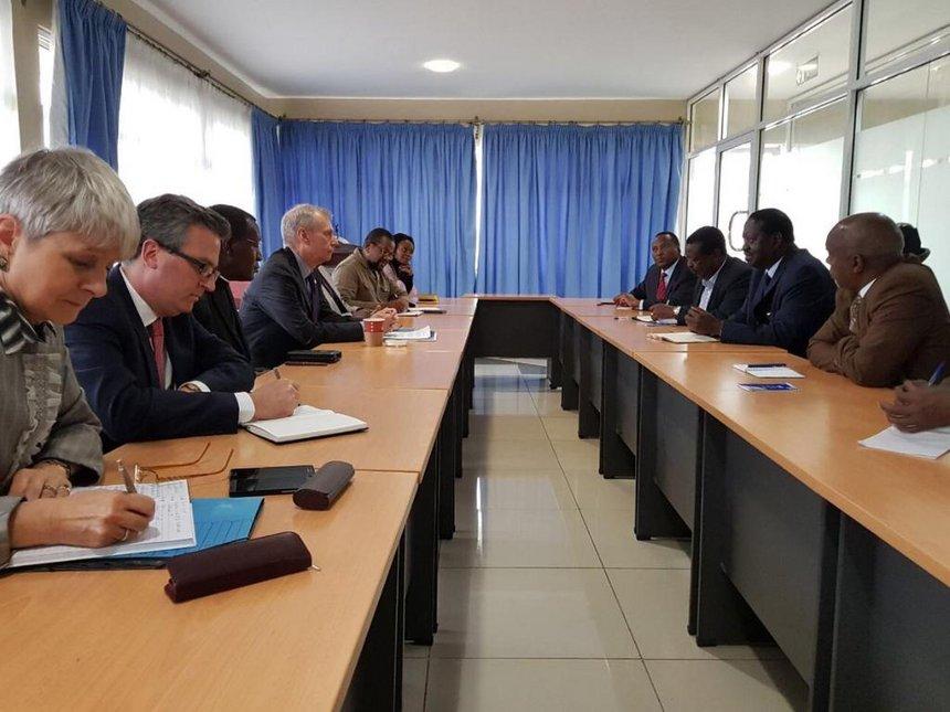 After rebuking US, Raila meets envoys on NASA's position
