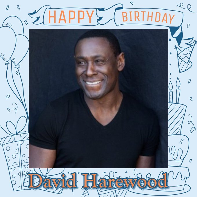 Happy Birthday David Harewood, Hannah Ware, Geoff Hurst, James Galway, Phil Collen & Teri Hatcher