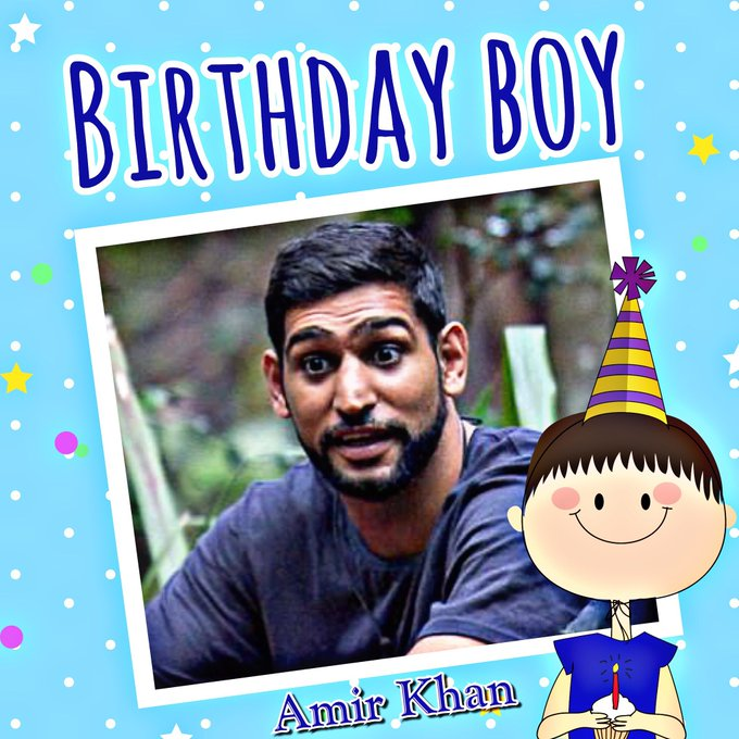 Happy Birthday Amir Khan, Kim Basinger, Sinead O\Connor, Nicki Minaj, Kim Medcalf & Bobby Elliott