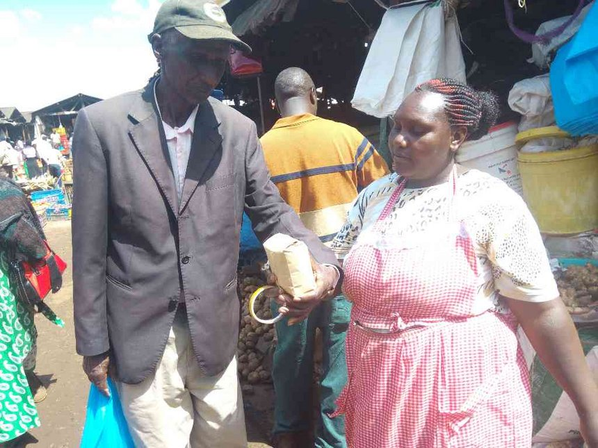 NEMA educates more in Uasin Gishu before plastic bags crackdown