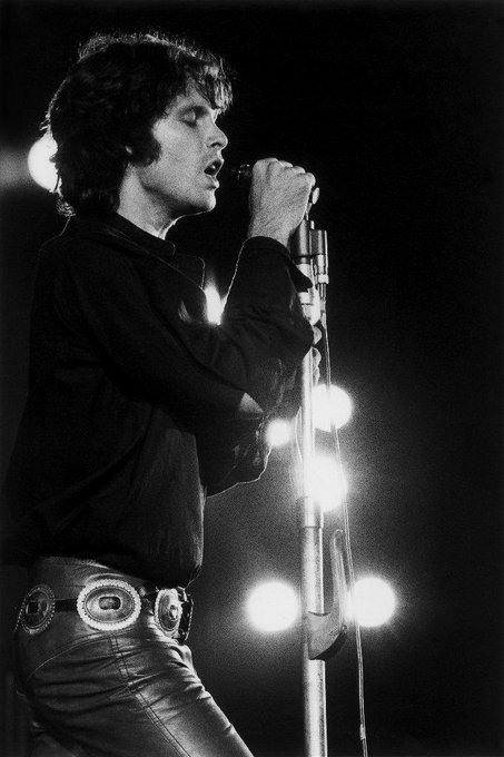 Happy 74th Birthday to Jim Morrison. Rest Well Lizard King.